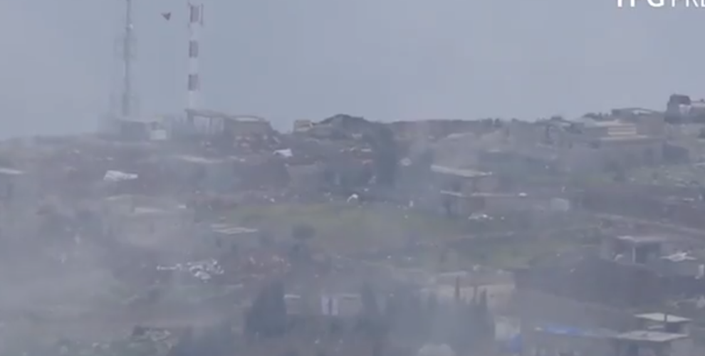 YPG'ê dîmenê rûxandina wesayîta leşkerî ya li Raco weşand